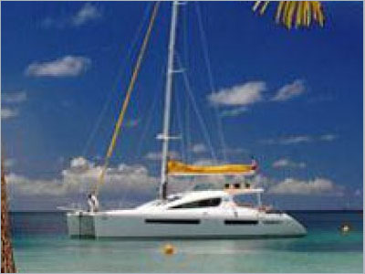 SOLD Privilege 615  in Marin Martinique MOTU  Preowned Sail