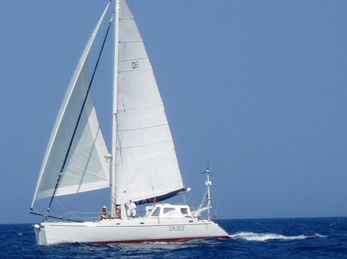 Preowned Sail Catamarans for Sale 1999 Atlantic 42