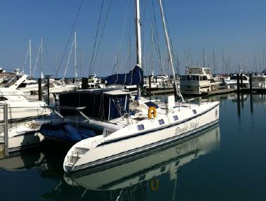Preowned Sail Catamarans for Sale 2000 Outremer 55 Light