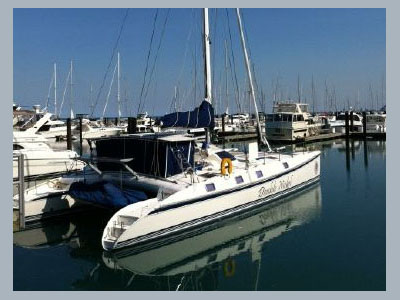 Catamarans DOUBLE NICKEL, Manufacturer: OUTREMER, Model Year: 2000, Length: 55ft, Model: Outremer 55 Light, Condition: USED, Listing Status: SOLD, Price: USD 409000