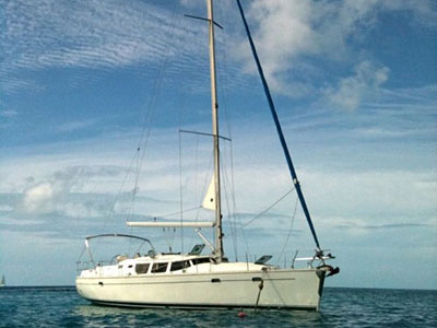 Catamarans SEGUE, Manufacturer: JEANNEAU , Model Year: 2003, Length: 43ft, Model: Sun Odyssey 43DS, Condition: Used, Listing Status: SOLD, Price: USD 119000