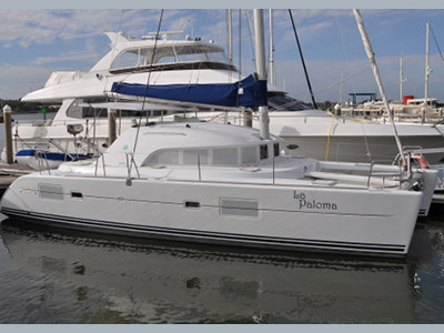 Catamarans LA PALOMA, Manufacturer: LAGOON, Model Year: 2007, Length: 38ft, Model: Lagoon 380 S2, Condition: USED, Listing Status: SOLD, Price: USD 289000