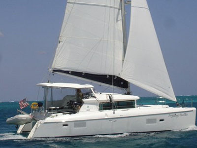 Catamarans ANYTHING'S PAWSIBLE, Manufacturer: LAGOON, Model Year: 2007, Length: 42ft, Model: Lagoon 420, Condition: Used, Listing Status: SOLD, Price: USD 435000