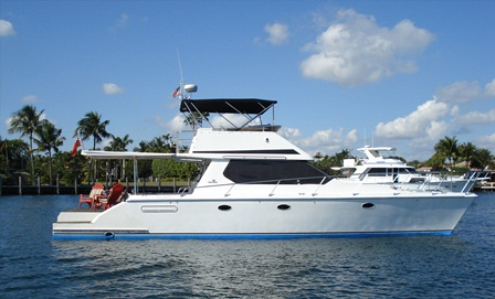 Preowned Power Catamarans for Sale 2000 Venture 44