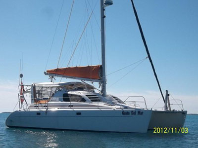 Catamarans GUSTO DEL MAR, Manufacturer: ROBERTSON & CAINE, Model Year: 2000, Length: 38ft, Model: Leopard 38, Condition: Used, Listing Status: SOLD, Price: USD 245000