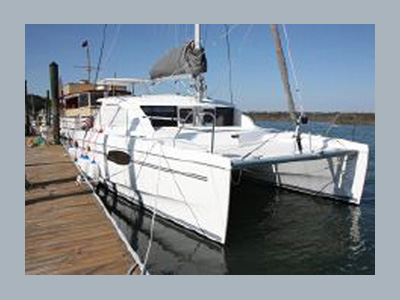 Preowned Sail Catamarans for Sale 2011 Leopard 39