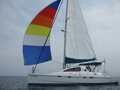 Catamarans ECLIPSE, Manufacturer: ROBERTSON & CAINE, Model Year: 2002, Length: 42ft, Model: Leopard 42, Condition: Used, Listing Status: Catamaran for Sale, Price: USD 263000