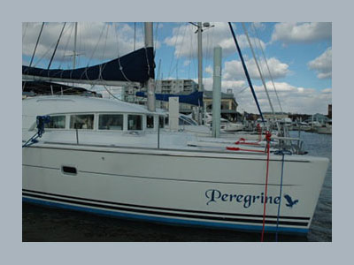 SOLD Lagoon 380  in Baltimore Maryland (MD)  PEREGRINE Thumbnail for Listing Preowned Sail