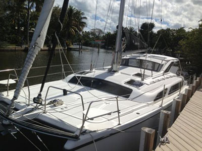 Catamarans WHITE STAR, Manufacturer: GEMINI CATAMARANS, Model Year: 2010, Length: 34ft, Model: Gemini 105Mc, Condition: USED, Listing Status: SOLD, Price: USD 189999