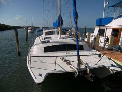 Catamarans CALYPSO CAT, Manufacturer: PERFORMANCE CRUISING, Model Year: 1990, Length: 32ft, Model: Gemini 3200, Condition: Used, Listing Status: SOLD, Price: USD 57500