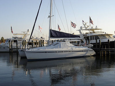 SOLD Privilege 42  in St. Augustine Florida (FL)  ALY CAT Thumbnail for Listing Preowned Sail