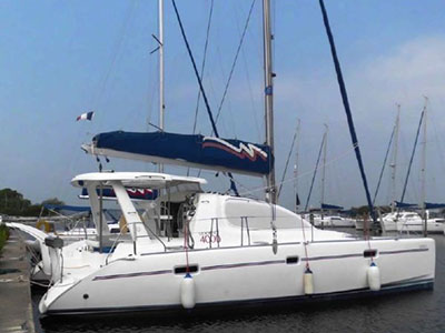 Catamarans AOZORA II, Manufacturer: ROBERTSON & CAINE, Model Year: 2008, Length: 40ft, Model: Leopard 40, Condition: Used, Listing Status: SOLD, Price: USD 269000