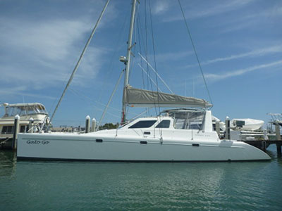Catamarans GATO GO, Manufacturer: VOYAGE YACHTS, Model Year: 2002, Length: 44ft, Model: Voyage 440, Condition: Used, Listing Status: SOLD, Price: USD 347000