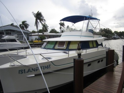 Catamarans ISLAND TIME, Manufacturer: FOUNTAINE PAJOT , Model Year: 1999, Length: 37ft, Model: Maryland 37, Condition: Used, Listing Status: SOLD, Price: USD 169500