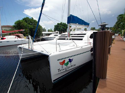 Catamarans THREE LITTLE BIRDS, Manufacturer: ROBERTSON & CAINE, Model Year: 2010, Length: 46ft, Model: Leopard 46 , Condition: Preowned, Listing Status: EXPIRED, Price: USD 398000