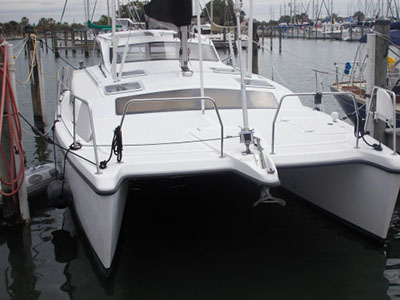 Catamarans WHISKEY TALK, Manufacturer: PERFORMANCE CRUISING, Model Year: 2001, Length: 34ft, Model: Gemini 105Mc, Condition: USED, Listing Status: SOLD, Price: USD 117900