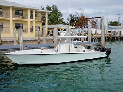 Catamarans TRIPLE TAIL, Manufacturer: SEA HUNTER, Model Year: 2004, Length: 35ft, Model: Sea Hunter 35, Condition: USED, Listing Status: Monohull for Sale, Price: USD 75000