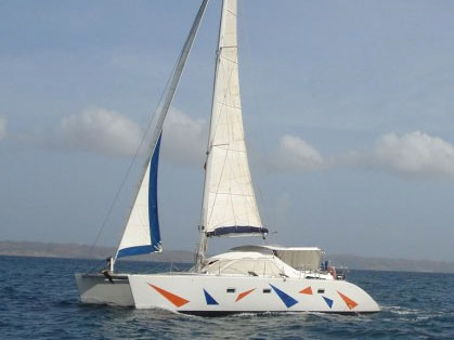 SOLD Lagoon 42 TPI  in Fort Lauderdale Florida (FL)  TANGERINE DREAM  Preowned Sail