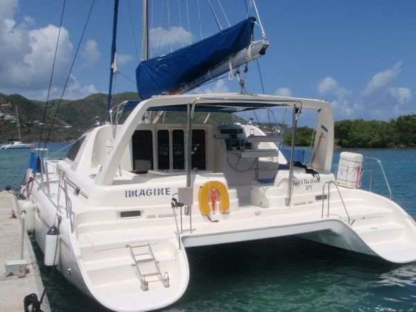 Used Sail Catamaran for Sale 2003 Leopard 42