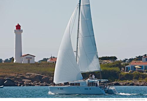 New Sail Catamaran for Sale 2013 Lagoon 450