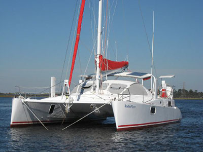 Catamarans RADIOFLYER, Manufacturer: CATANA, Model Year: 2001, Length: 40ft, Model: Catana 401, Condition: Used, Listing Status: SOLD, Price: USD 339000
