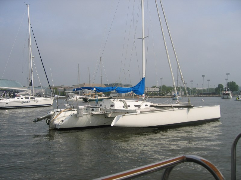 Preowned Sail Catamarans for Sale 1997 Contour 34SC