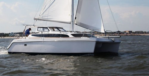 New Sail Catamarans for Sale 2013 Legacy 35