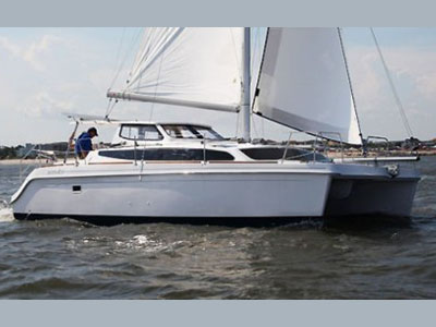 Catamarans HULL 1159, Manufacturer: GEMINI CATAMARANS, Model Year: 2013, Length: 35ft, Model: Legacy 35, Condition: New, Listing Status: SOLD, Price: USD 242610