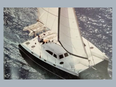 SOLD Broadblue 415  in Fort Lauderdale Florida (FL)  CA CANNY  Preowned Sail