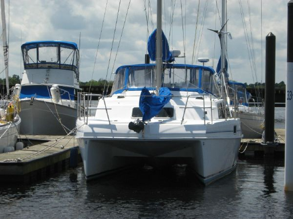Preowned Sail Catamarans for Sale 1998 Endeavour 34