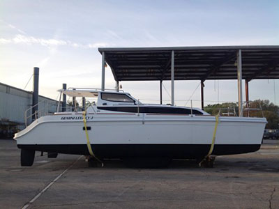 Catamarans HULL 1158, Manufacturer: GEMINI CATAMARANS, Model Year: 2013, Length: 35ft, Model: Legacy 35, Condition: NEW, Listing Status: SOLD, Price: USD 246825