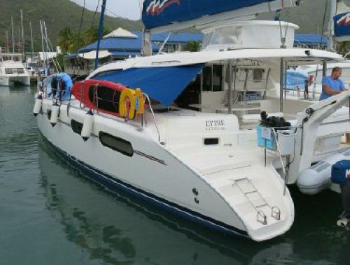 Preowned Power Catamarans for Sale 2009 Leopard 46