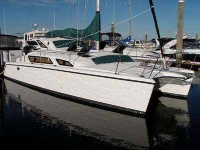 Catamarans SOON E NUFF, Manufacturer: PERFORMANCE CRUISING, Model Year: 1998, Length: 34ft, Model: Gemini 105M, Condition: Used, Listing Status: SOLD, Price: USD 89900
