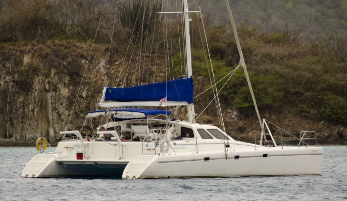 SOLD Norseman 400  in Tortola British Virgin Islands ORION  Preowned Sail