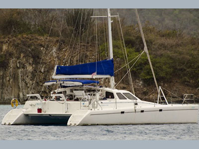 SOLD Norseman 400  in Tortola British Virgin Islands ORION Thumbnail for Listing Preowned Sail