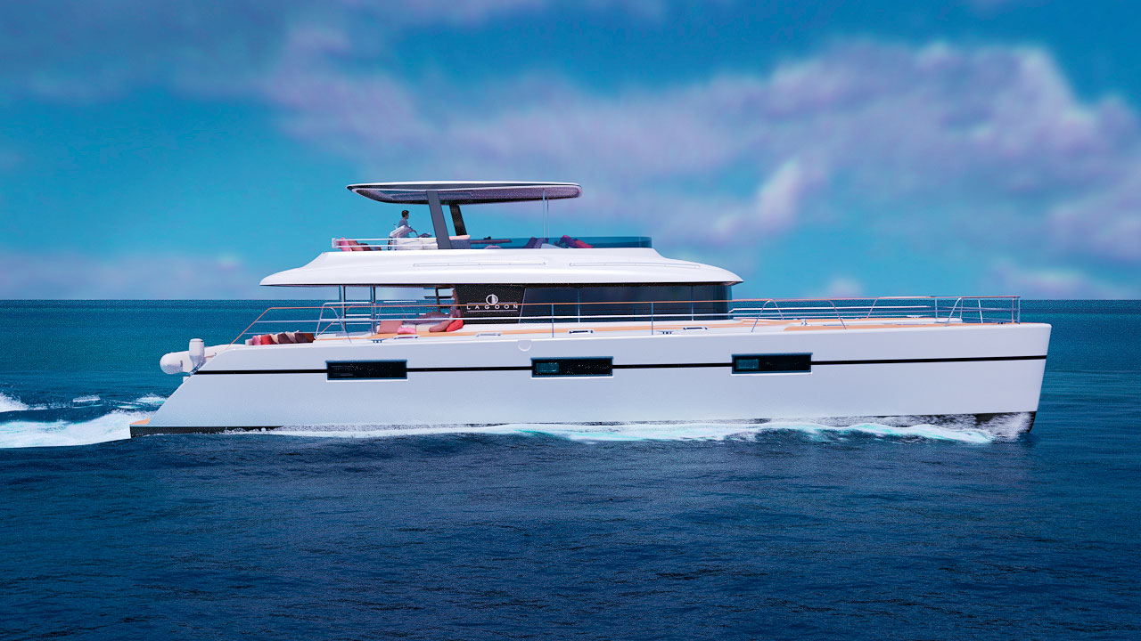 New Power Catamaran for Sale  Lagoon 630MY