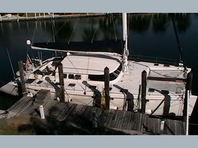 Preowned Sail Catamarans for Sale 1996 Marquises 56