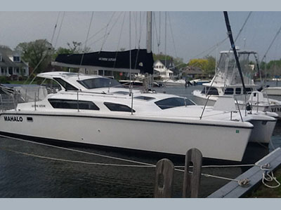 Catamarans MAHALO, Manufacturer: PERFORMANCE CRUISING, Model Year: 2003, Length: 34ft, Model: Gemini 105Mc, Condition: Used, Listing Status: Acceptance of Vessel, Price: USD 104000