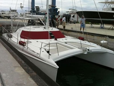 Catamarans CHAPTER X, Manufacturer: MANTA, Model Year: 1999, Length: 40ft, Model: Manta 40 Sail Catamaran, Condition: USED, Listing Status: SOLD, Price: USD 269000