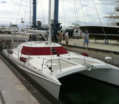 Preowned Sail Catamarans for Sale 1999 Manta 40 Sail Catamaran