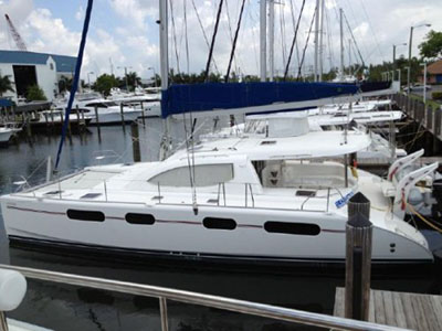 Catamarans SEADUCTION, Manufacturer: ROBERTSON & CAINE, Model Year: 2010, Length: 46ft, Model: Leopard 46 , Condition: Used, Listing Status: SOLD, Price: USD 445000