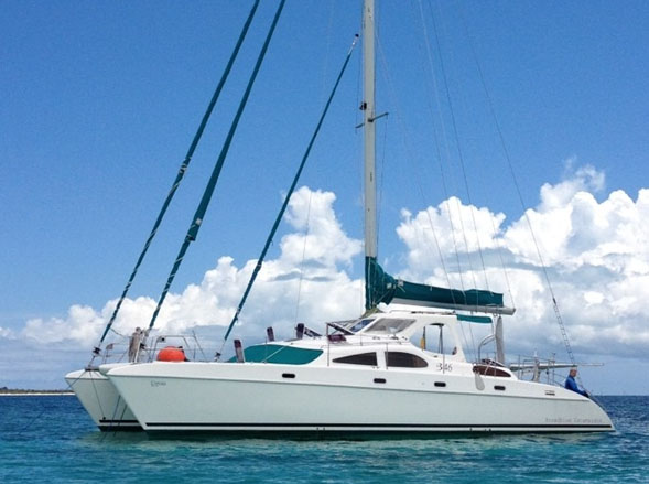 Preowned Sail Catamarans for Sale 2005 Broadblue 46