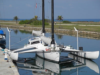 Catamarans WHITE PEGASUS, Manufacturer: CUSTOM, Model Year: 1986, Length: 55ft, Model: Trimaran, Condition: Used, Listing Status: SOLD, Price: USD 90000