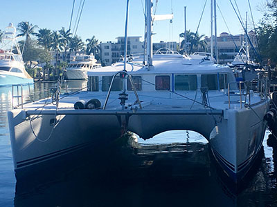 Catamaran for Sale Lagoon 440  in Fort Lauderdale Florida (FL)  TRES Thumbnail for Listing Preowned Sail