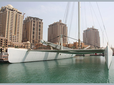 SOLD Racing 110  in Doha Qatar THE PEARL (AL BAWERAH) Thumbnail for Listing Preowned Sail