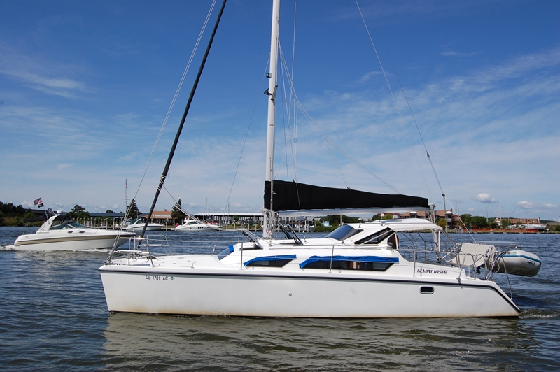 Preowned Sail Catamarans for Sale 2009 Gemini 105Mc