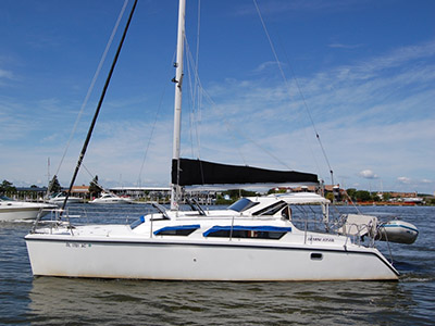 Catamarans GEMINI DREAM, Manufacturer: PERFORMANCE CRUISING, Model Year: 2009, Length: 34ft, Model: Gemini 105Mc, Condition: Used, Listing Status: Catamaran for Sale, Price: USD 159500