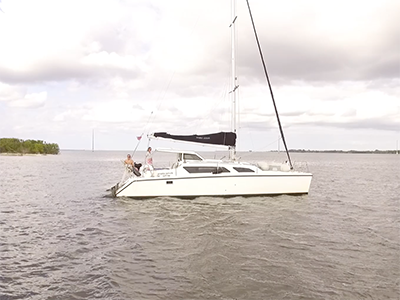 Used Sail Catamarans for Sale 2010 Gemini 105Mc
