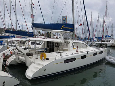 Catamarans ODYSSEA, Manufacturer: ROBERTSON & CAINE, Model Year: 2007, Length: 46ft, Model: Leopard 46 , Condition: USED, Listing Status: SOLD, Price: USD 380000