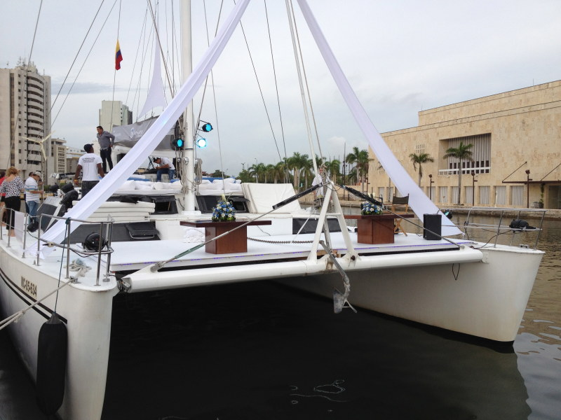 FOUR Catamarans For Sale. 63 To 65 feet in length. 